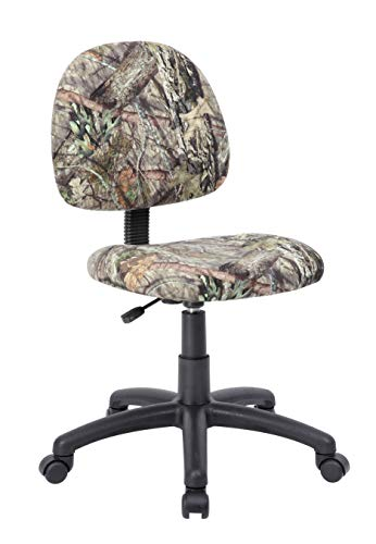 Boss Office Products B315-MO Mossy Oak Break-Up Country Deluxe Posture Chair Camo