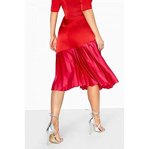 Mistress Rose Jupe Charlotte plisse Femme Rouge Little UadqU