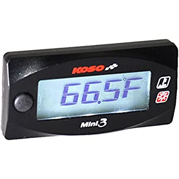Inside Outside Auto Thermometer Gauge Dual Display For Any Semi Pickup Truck Or Car