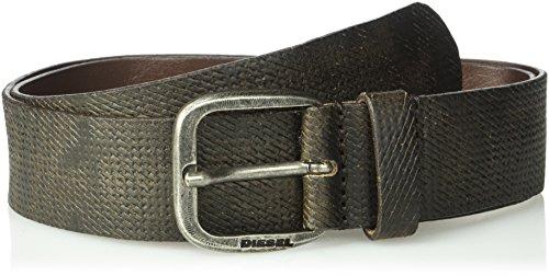 Diesel Men's Roar Leather Belt, Shopping Bag, 105