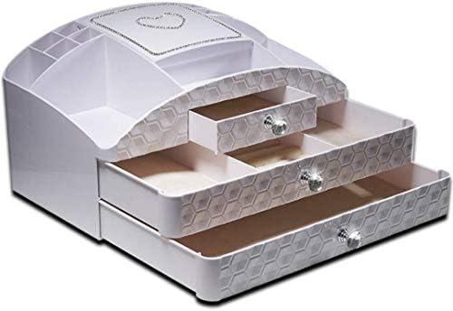 XWYSSH主催 化粧品収納ボックス木製化粧テーブル/化粧仕上げビン/ミニディスプレイスタンド XWYSSH