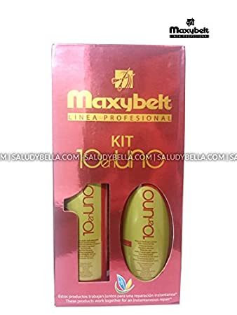 Maxybelt 10 en 1 Kit Treatments Repair All Types of Hair Subjected to Chemical Processes |