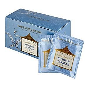 Fortnum and Mason British Tea, Russian Caravan, 25 Count Teabags (1 Pack) - - Seller Model Id Rcsfl098b - USA - Caravan Usa