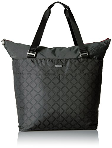 Baggallini Women's Carryall Tote, Charcoal Link
