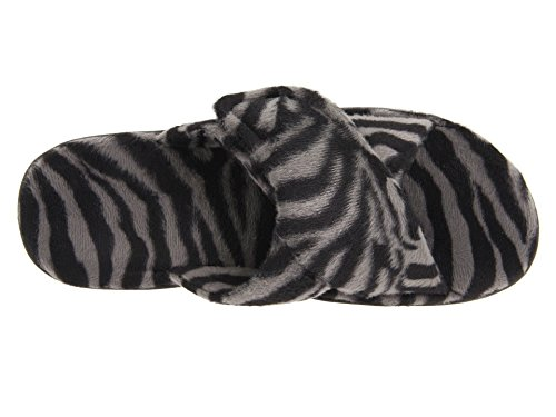 Vionic Orthaheel Kvinna Koppla Toffel, Zebra, Storlek: 7