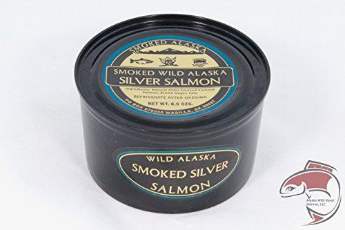 Wild Alaska Smoked Salmon Can (Silver/Coho)