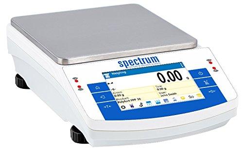 Spectrum 642-10089 SCT-4502C Touch Display Toploader Balance with Internal Calibration 4500g x 0.01g
