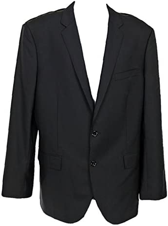 J Crew Crosby Suit Jacket Double Vent Italian Worsted Wool 36S C32680 Black