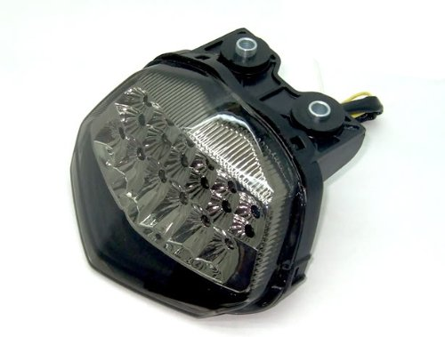 MZS LED Tail Light for Kawasaki Ninja 250R 2008-2012 Smoke (Light Tail Ninja)