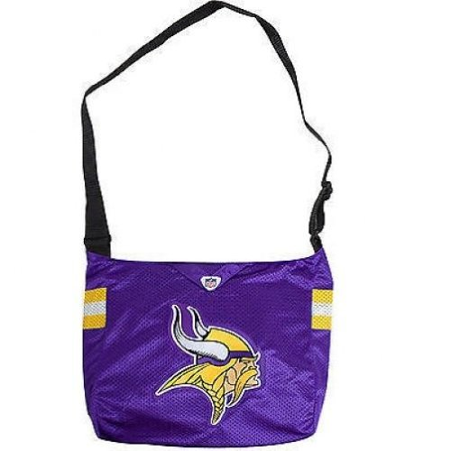 - Minnesota Vikings MVP Jersey Messenger Purse Tote Tailgate Bag Littlearth