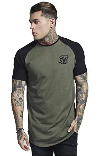 siksilk T-Shirt TECH TEE SS-14081 Black (S)