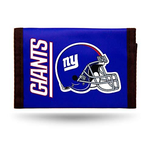 - NFL New York Giants Nylon Trifold Wallet, Blue, 5