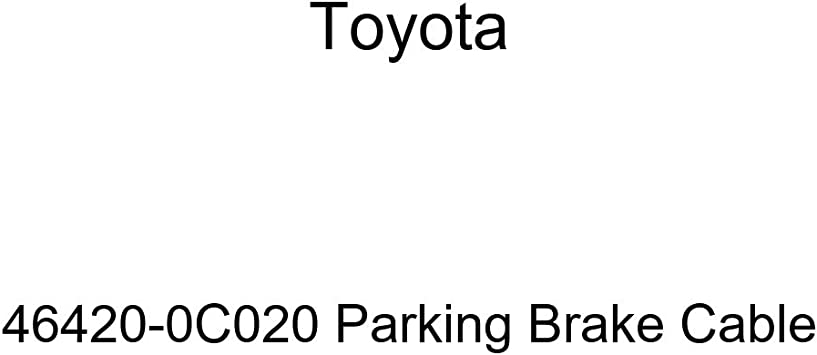 Toyota 46420-02040 Parking Brake Cable