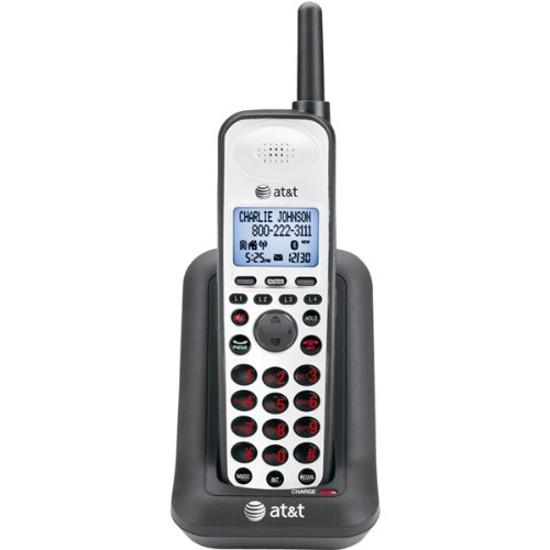 New-4-Line DECT 6.0 Expansion Handset For SB67118 - Y69074 Dect 6.0 Four Handset