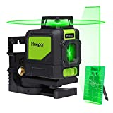 Levelsure 901CG Professional Laser Level, Mute 150 Ft Green Beam Cross Laser Self-Leveling