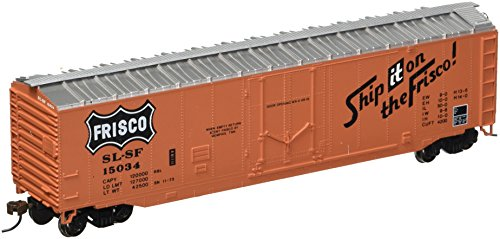 Ho Train Car (Bachmann Trains Frisco 50' Plug-Door Box Car-Ho Scale)