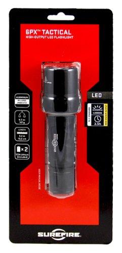 SureFire 6PX Tactical Single-Output LED Flashlight with anodizded aluminum body, Black by SureFire (Image #2)
