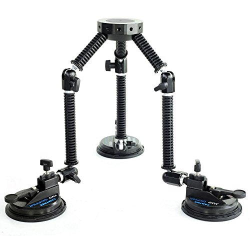 CAMTREE G-51 Professional Gripper Campod Car Mount Stabilizer - Black...