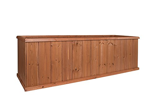Greenstone 130013 Monarch Cedar Planter Box, Extra large, Heartwood by Greenstone