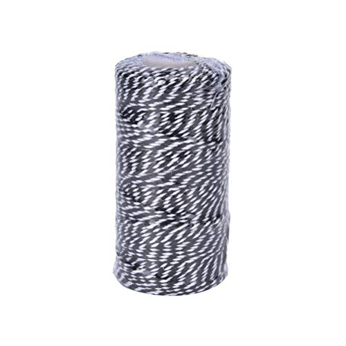 Stripe Package - Hemp Twine - 1 Roll 100yard Cotton Bakers Twine Stripe Line Candy Favour Gift Craft Package - Favor Bulk Guests Wedding Stickers Decorations Pack Favors Gift Boxes Gifts Buffet Bags Ring Con