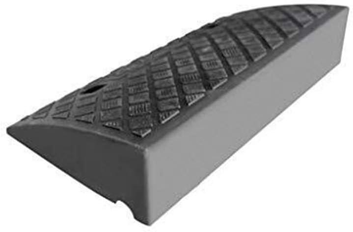 Rampa plástico,multiusos resistente al desgaste Entrada rampas for,Rampa servicio de contenedor de seguridad vial para silla de ruedas autocaravana (tamaño: 49.5 * 26.5 * 13.2 cm)