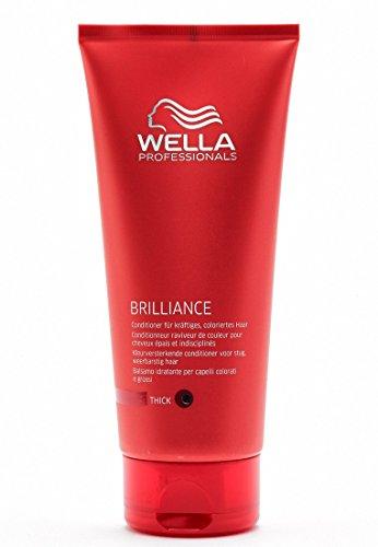 Wella Professionals Brilliance unisex, Conditioner für kräftiges, coloriertes Haar, 200 ml, 1er Pack, (1x 1 Stück)
