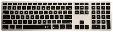 Checkerboard ,Clear w// black buttons CB-AK-CB Dr Bott Keyboard Cover for Apple Ultra-Thin with Number Pad