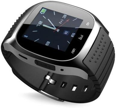 rwatch M26Bluetooth LED Reloj con dial/Llamada Respuesta/SMS Recordando/Reproductor de música/Anti–perdido/Pas.