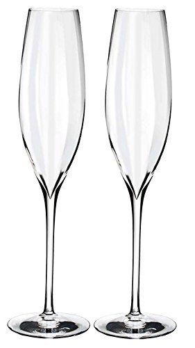 Waterford Elegance Optic Classic Champagne Flute Set