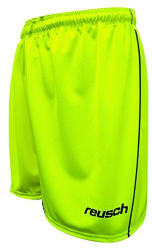 (Reusch Soccer Match Prime Unpadded Goalkeeper Shorts, Yellow/Black, Adult Large )
