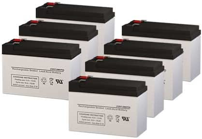 Para Systems Minuteman MM2000 CP//2 UPS Replacement Batteries Set of 7