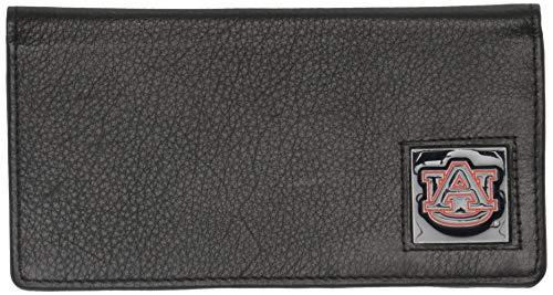 Siskiyou Sports Unisex NCAA Auburn Tigers Leather Checkbook Cover, Black, Standard