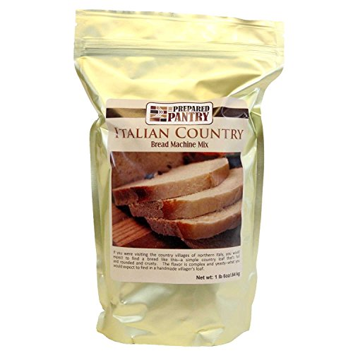 (The Prepared Pantry Italian Country Bread Machine Mix, 88 Ounce)