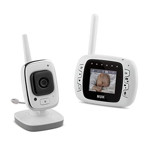 Babá Eletrônica Digital LCD Vídeo Recording - NUK, Branco