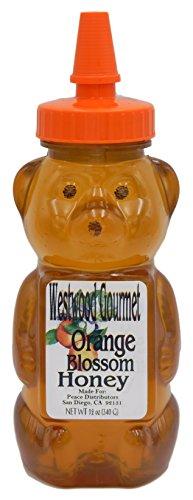 Westwood Gourmet Flavored Honey  12 Oz  Orange Blossom