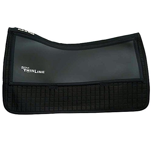 Back on Track THEREPY THERAPEUTIC CONTENDER II COMFORT WESTERN SADDLE PAD BLACK