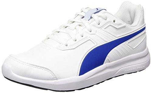Puma escaper SL Jr, Zapatillas Unisex Niños Blanco (White-lapis Blue)