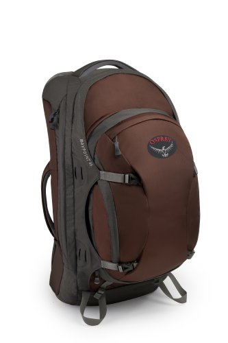 Osprey Men's Waypoint 65 Travel Backpack, Earth Brown, Large, Outdoor Stuffs