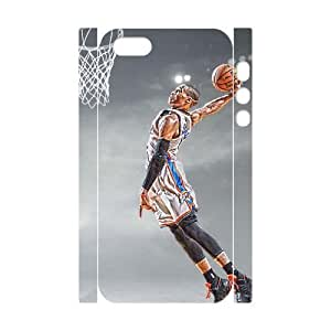 C-EUR Cell phone Protection Cover 3D Case Russell Westbrook For Iphone 5,5S