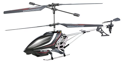 Sky Rover Exploiter S 3 Channel with Gyro Helicopter, Black Vehicle
