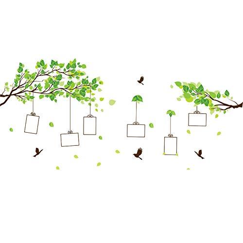 AZHF 5-Zoll-Aufkleber Fotowand umweltfreundlich für die Fotoanzeige   großer wandmontierter multifunktionaler Rahmen   Geschenk für Freunde Familie   Landschaft und Porträt