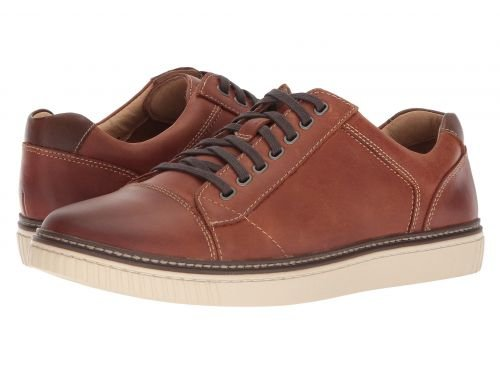 Johnston & Murphy(ジョーンストンアンドマーフィー) メンズ 男性用 シューズ 靴 スニーカー 運動靴 Wallace Lace To Toe - Tan Oiled Nubuck [並行輸入品] B07C8KZ7FT