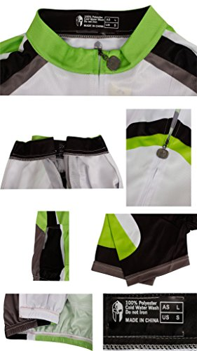 Quick Shirts Short Cycling Dry Jerseys Sports Outdoor Team Cycling Breathable Clothing Sleeves Green Men wgIfERxqx