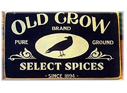 Amazon.com: CELYCASY Old Crow Brand Select Spices - Cartel ...