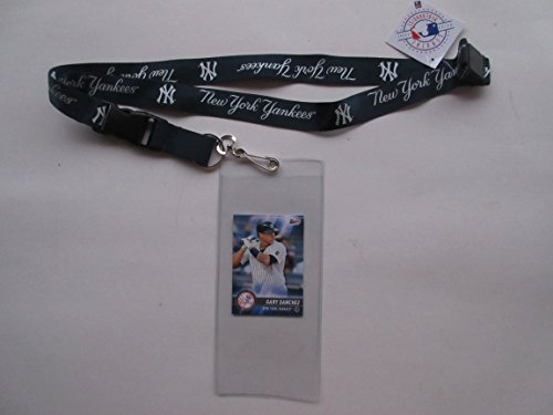 Yankee Game Ticket (NEW YORK YANKEES LANYARD & TICKET HOLDER WITH COLLECTIBLE PLAYER CARD)
