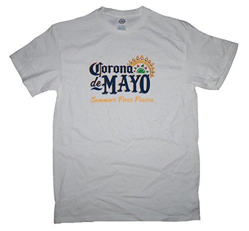 corona-extra-corona-de-mayo-fiesta-t-shirt-m-mayowhite