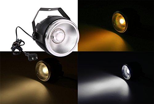 PAR LED stage light,TOM 40W cool white&warm white par LED light for stage/wedding/party/theat/studio (double white)