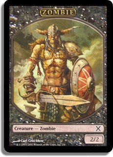 (Magic: the Gathering - Zombie Token (2/6) - Tenth Edition)