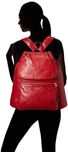 Balenciaga-Mens-Traveler-Backpack-Red