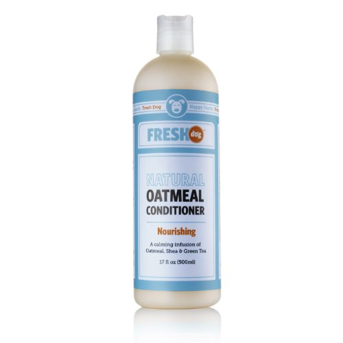 Fresh Dog Natural Oatmeal Conditioner for Dry and Itchy Skin, ()